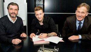 Марко Ройс подписал новый контракт с «Боруссией»
