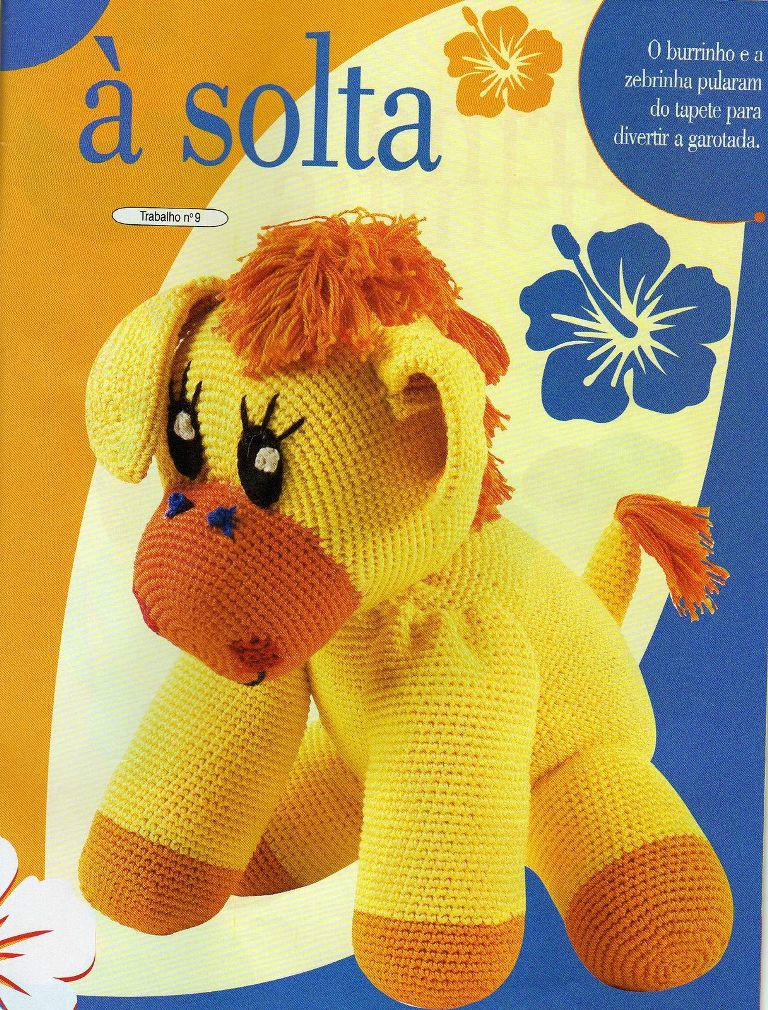 Журнал со схемами. Вяжем детские игрушки крючком