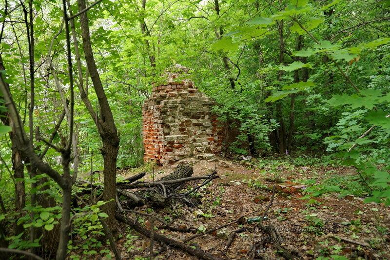 Остатки стены Архиерейской дачи, Казанский Воскресенский Новоиерусалимский мужской монастырь