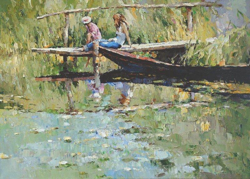 Алексей Зайцев. На озере.jpg