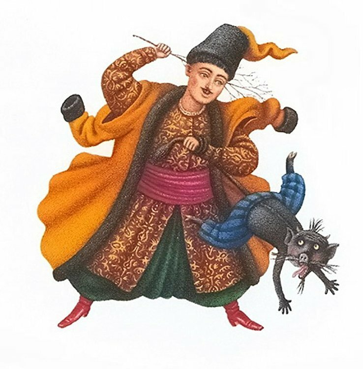 Николай Васильевич Гоголь - Ночь перед Рождеством - Художник-иллюстратор Кость Лавро (Украина)
