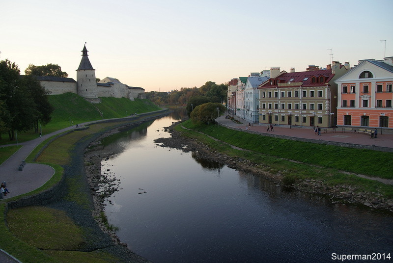 вечерний Псков