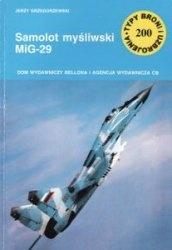 Книга Samolot mysliwski MiG-29 [Typy Broni i Uzbrojenia 200]