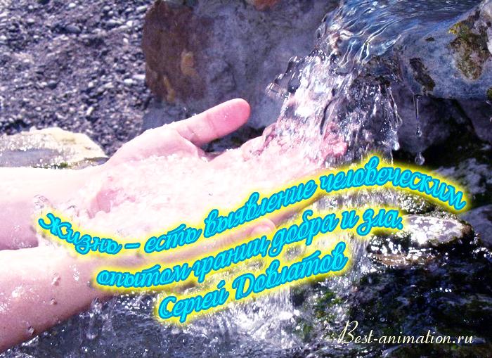 Цитаты великих людей - Что такое жизнь - Жизнь – есть выявление человеческим опытом...