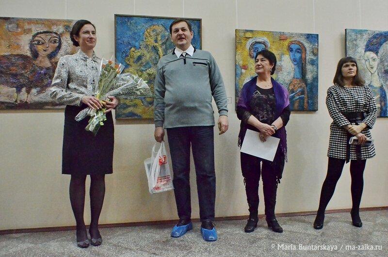 Мастерская цвета, Саратов, Радищевский музей, 15 января 2015 года