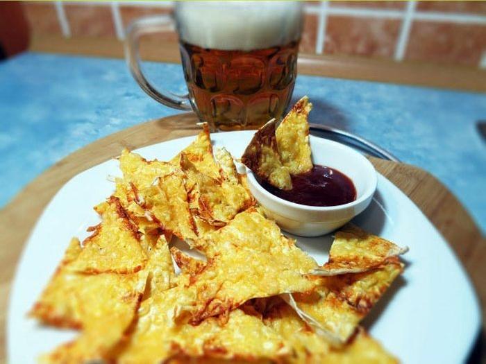 Рецепт чипсов из лаваша к пиву