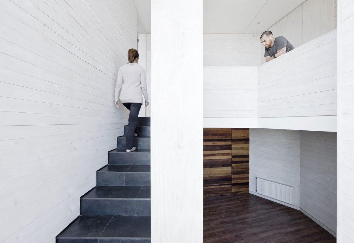 план частного дома, планировка интерьера частного дома, архитектурное бюро LAND Arquitectos, частный дом Catch the Views в Чили, частные дома в Чили