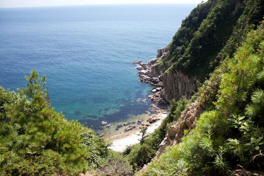 Побережье Японского моря, заливы, острова