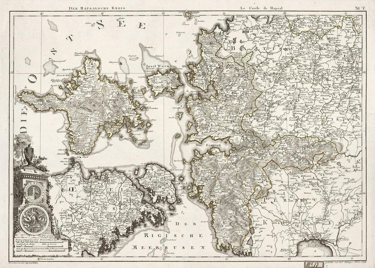 14. 1798. Гапсальский уезд