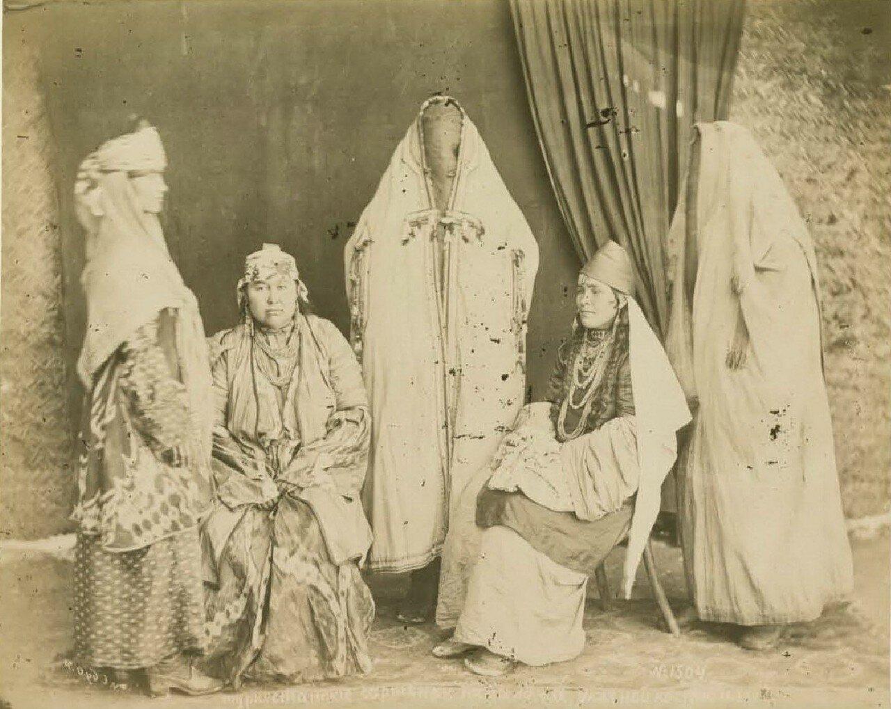 Туркестанские сартянки