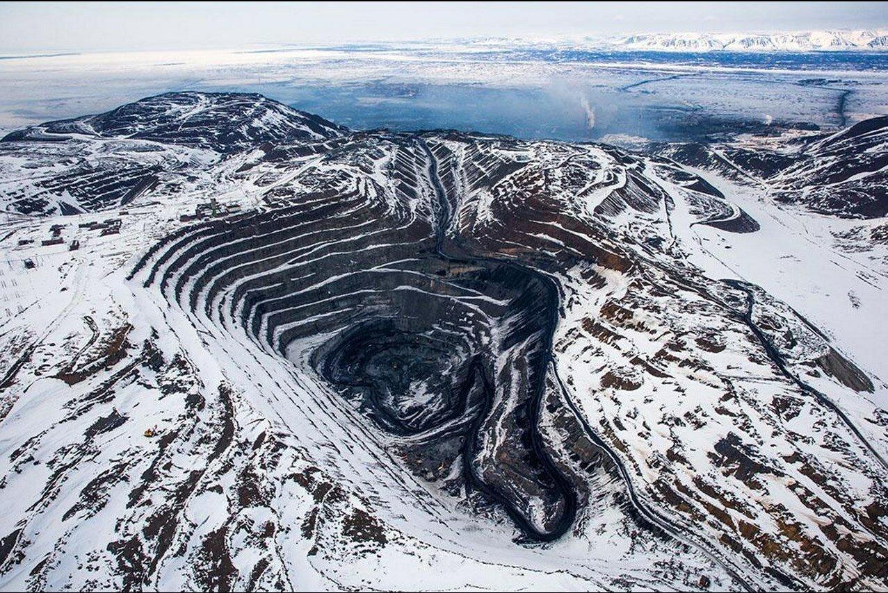 17. Рудник вблизи Норильска