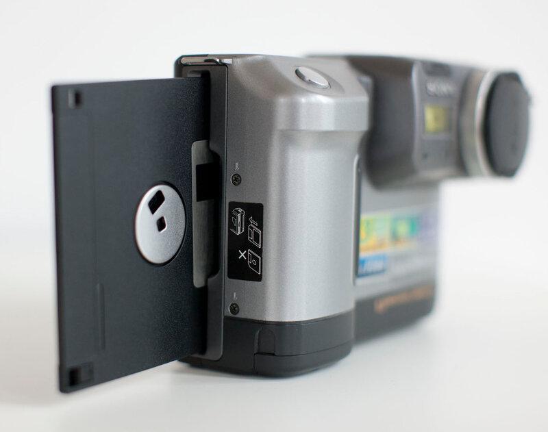 Sony Digital Mavica MVC-FD88
