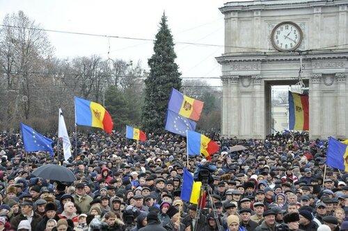 Очередные протесты прошли в минувшее воскресенье в Молдове