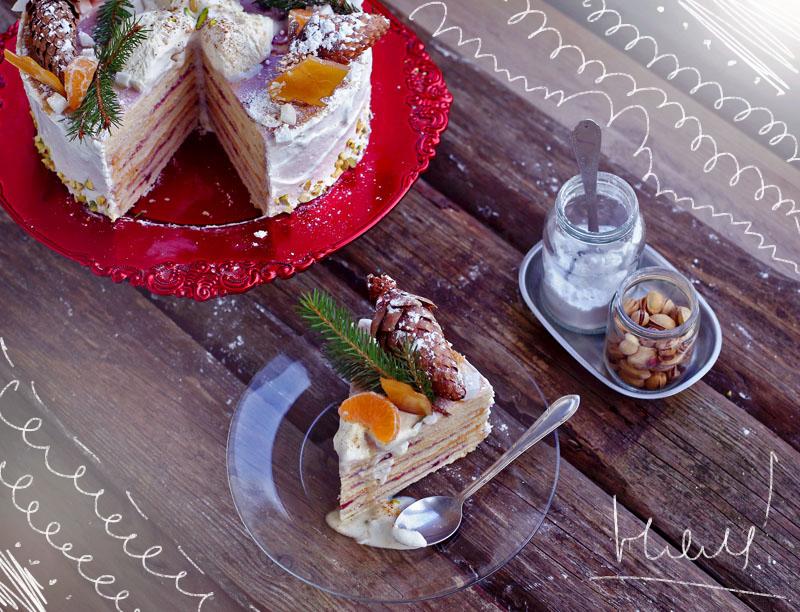 Сметанник - пошаговый рецепт вкусного торта с фото #9.