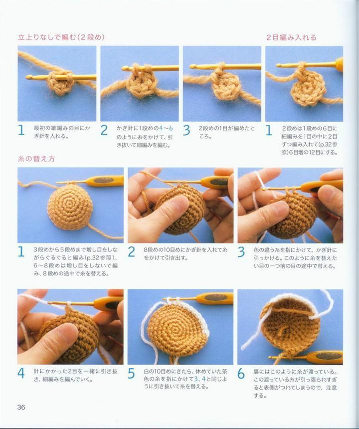 Вязание крючком игрушек для начинающих пошагово с