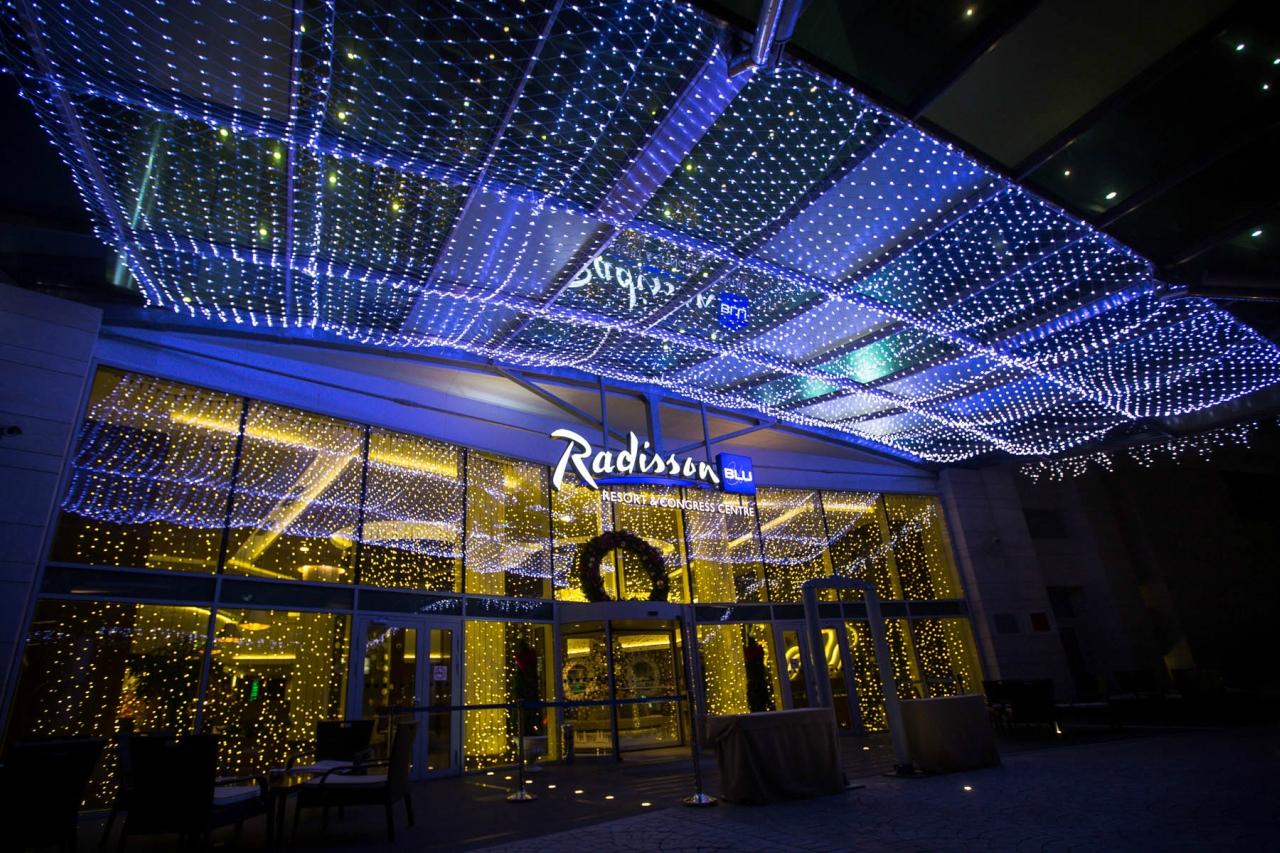 Сочи. Radisson Blu Resort & Congress Centre. Южная сказка