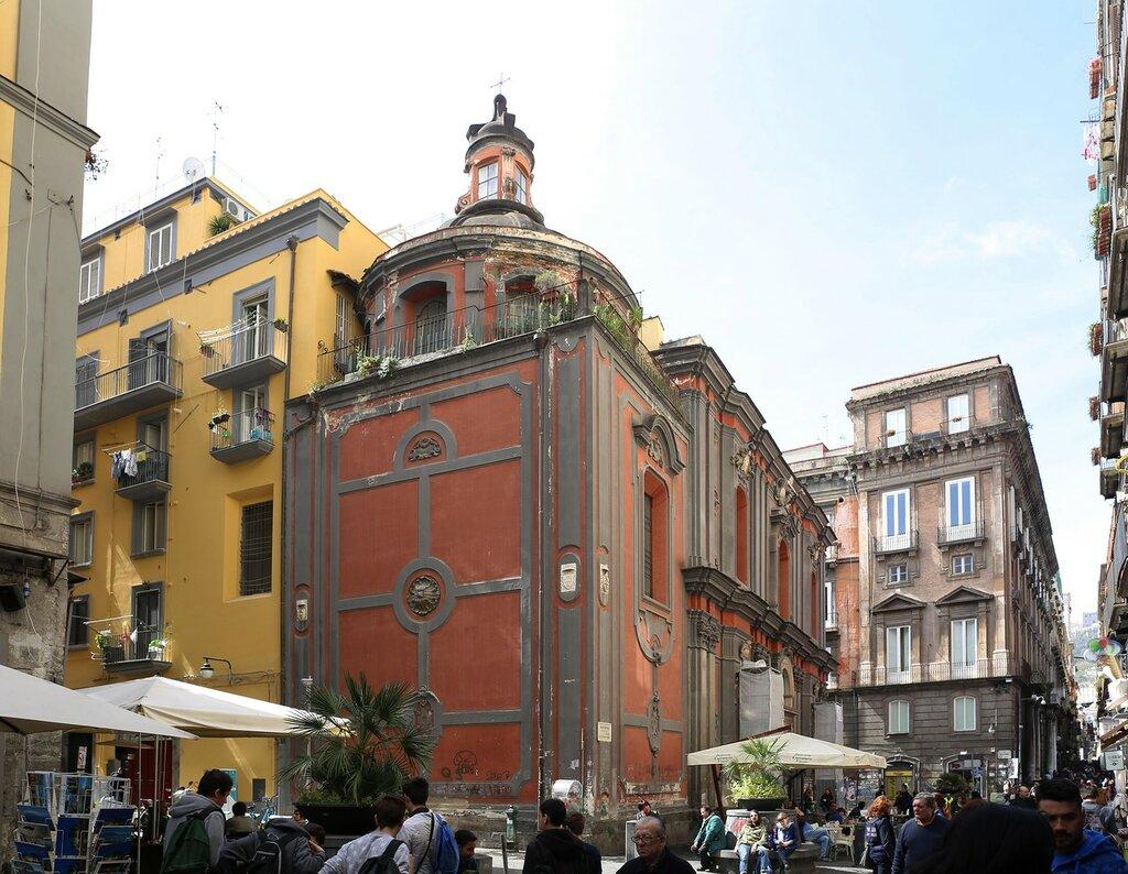 Неаполь. Церковь Сант-Анжело-а-Нило (Chiesa di Sant'Angelo a Nilo)