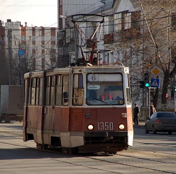 ВЧелябинске «влоб» столкнулись два трамвая