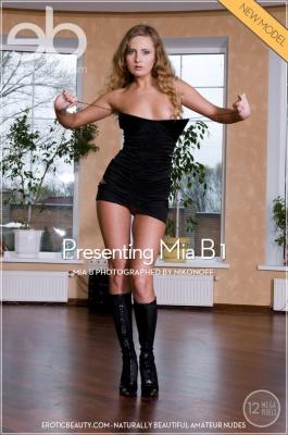 Журнал Журнал EroticBeauty: Mia B - Presenting Mia B 1 (01-02-2014)