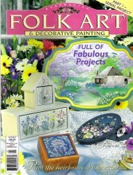 Australian Folk Art & Decorative Painting Vol 9 № 5 2002