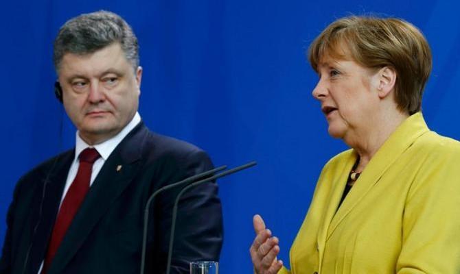 Меркель Аннексия Крыма угрожает послевоенному порядку в Европе