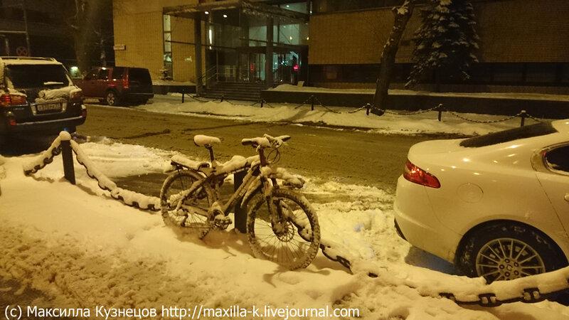 Москва велосипедная
