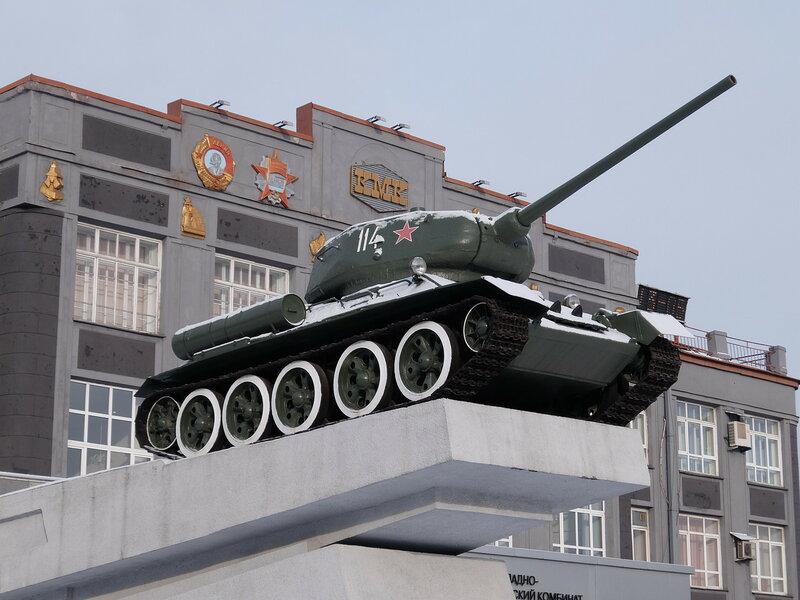 Т-34 в Новокузнецке