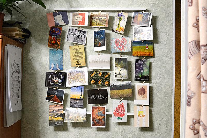 Как хранить открытки