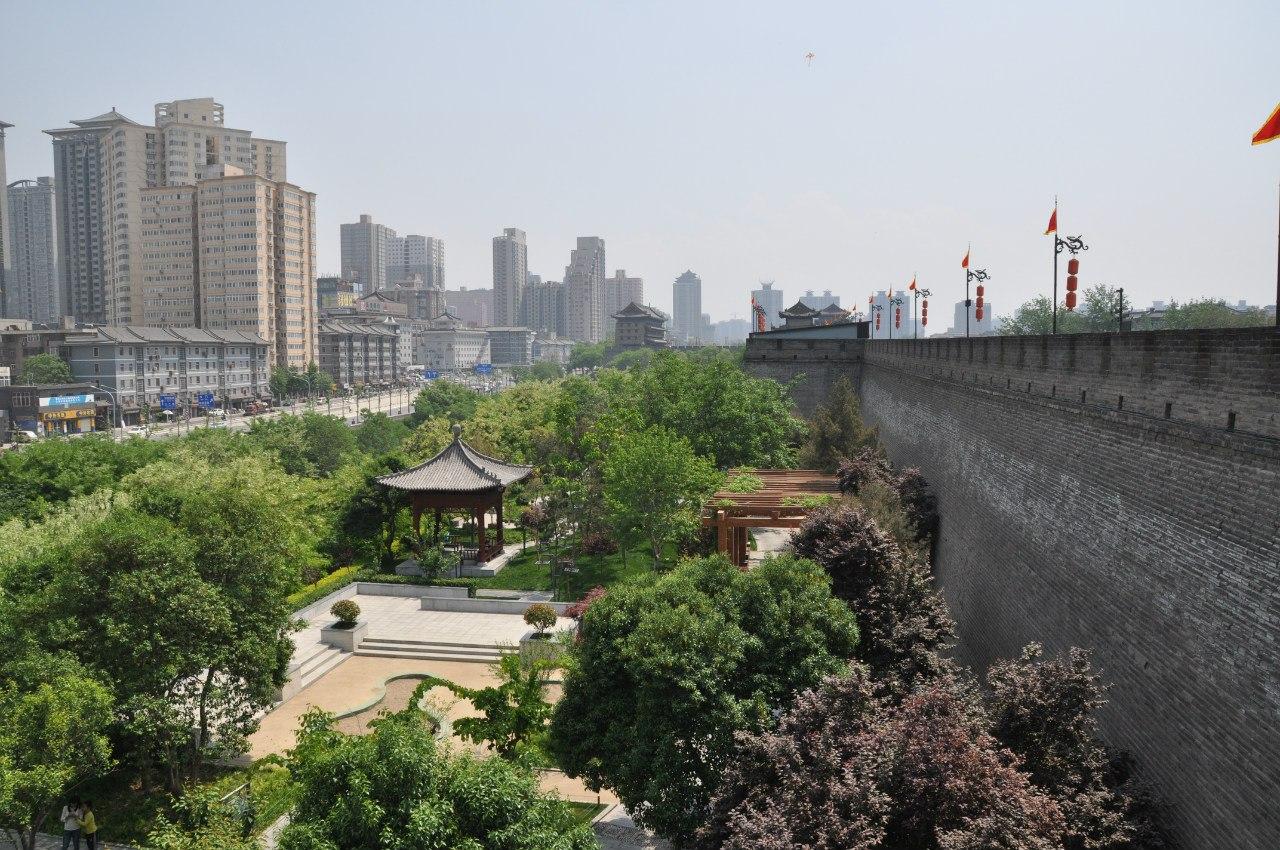 За пределами городской стены