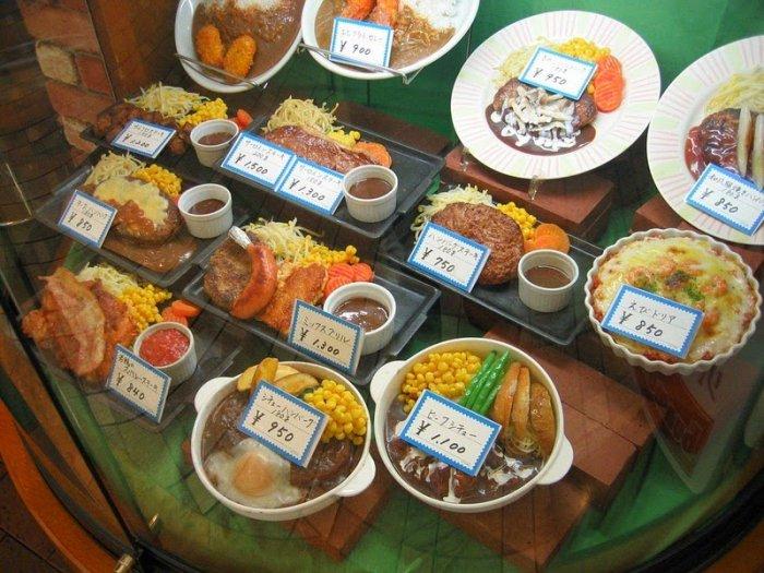 японские реплики еды