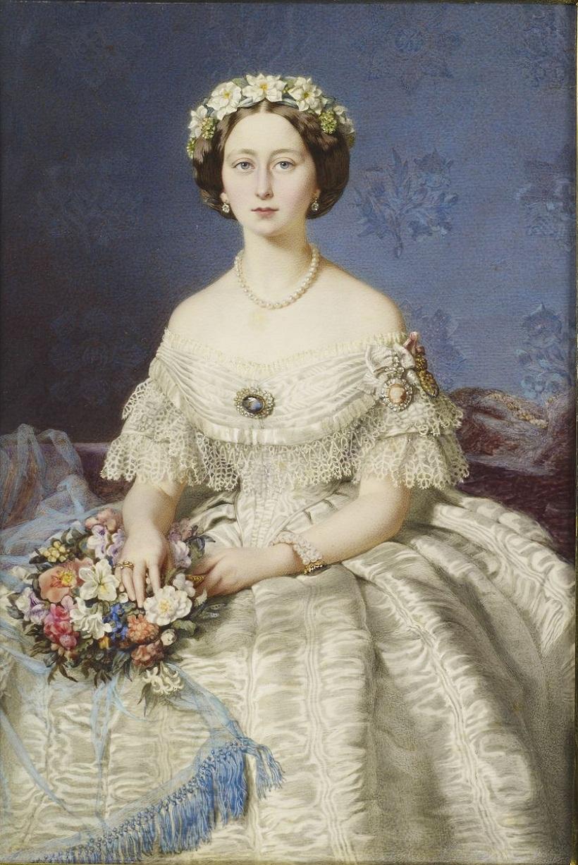 Эдуардо де Мойра (1817-87)Принцесса Алиса (1843-1878) позже Великая княгиня Гессен  1860