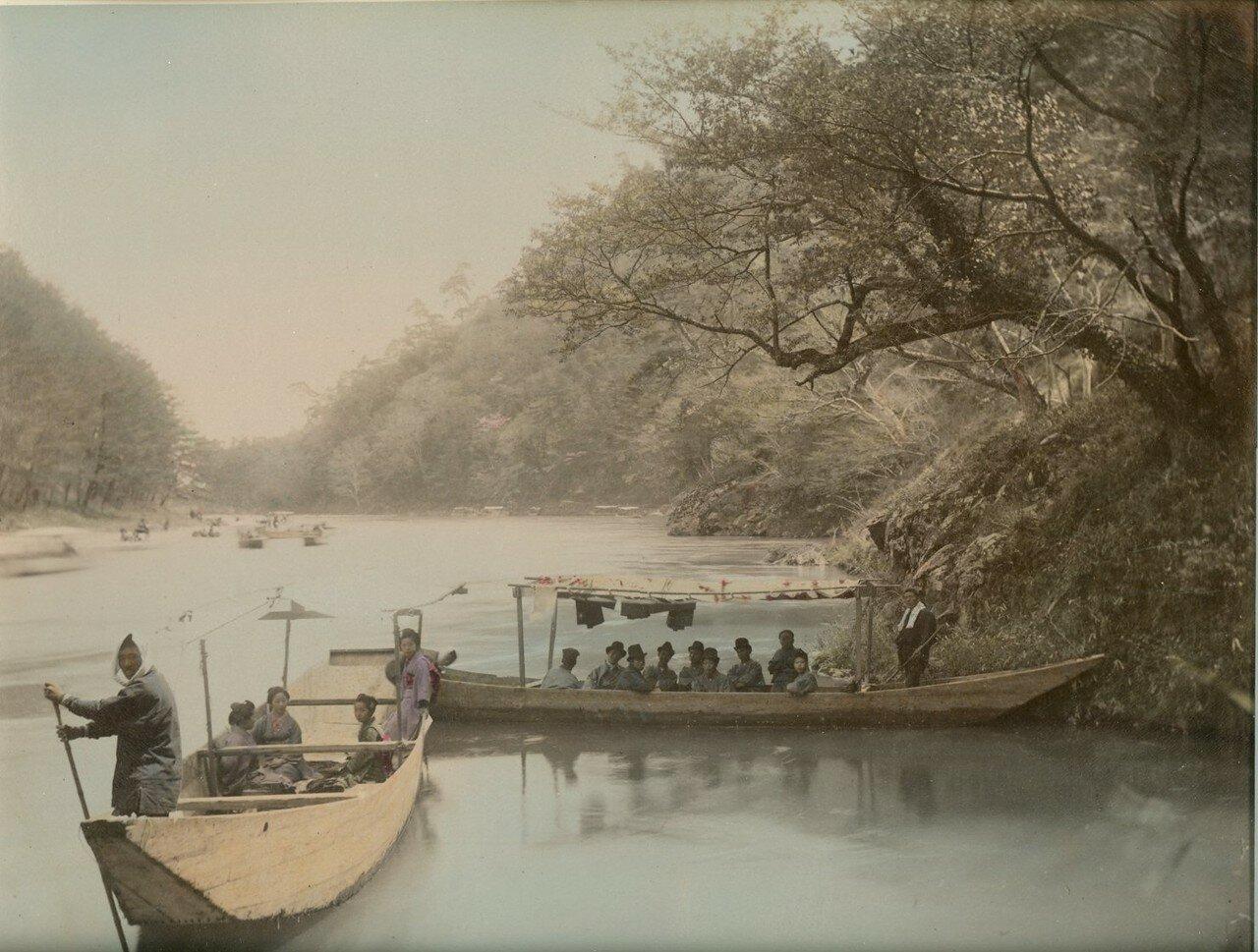 Гребля на озере Никко