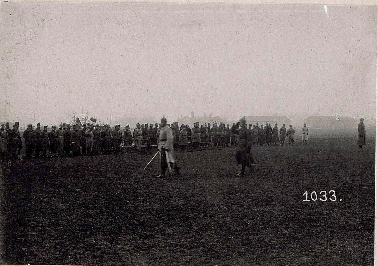 Kaiser Wilhelm II. Geburtstagsfeier in Wladimir Wolinsky.
