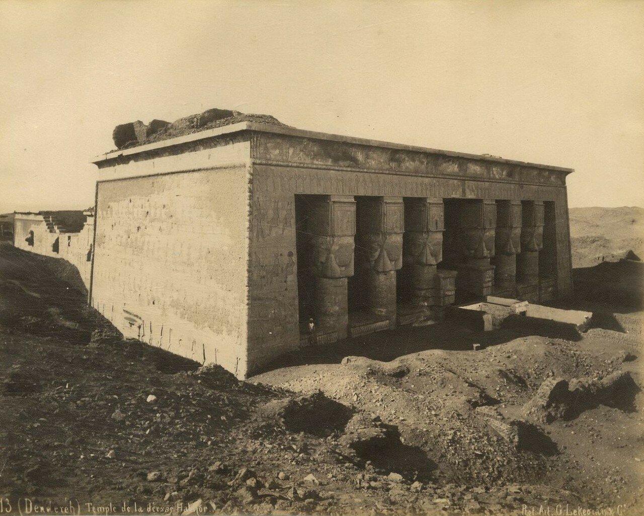 Дендера. Храм богини Хатхор