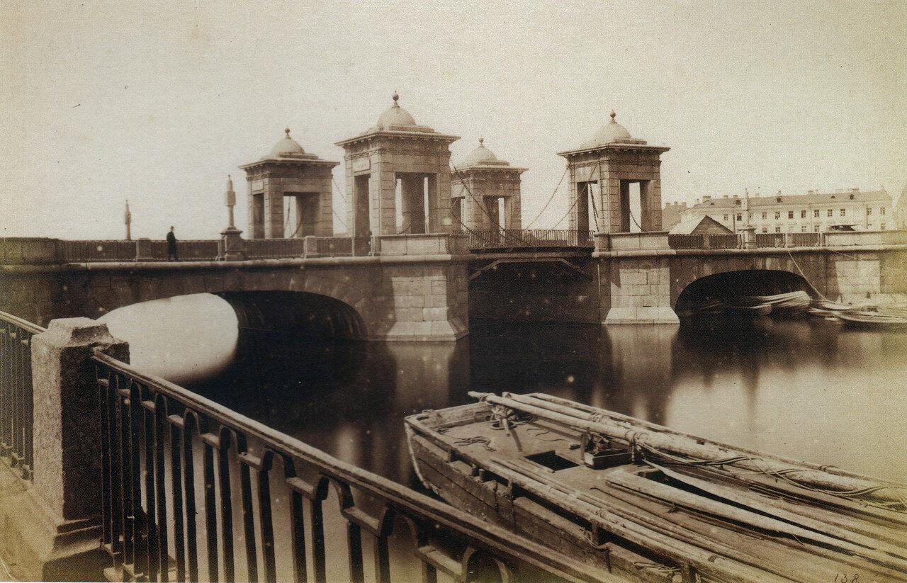 Старо-Калинкин мост через Фонтанку. 1880-е
