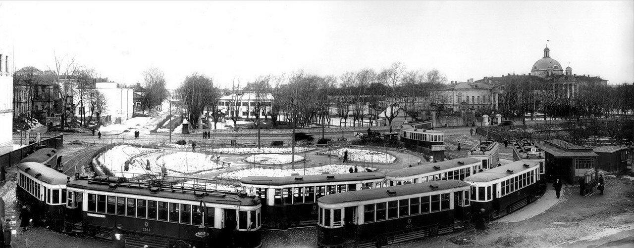 1930-е. Апаковское депо