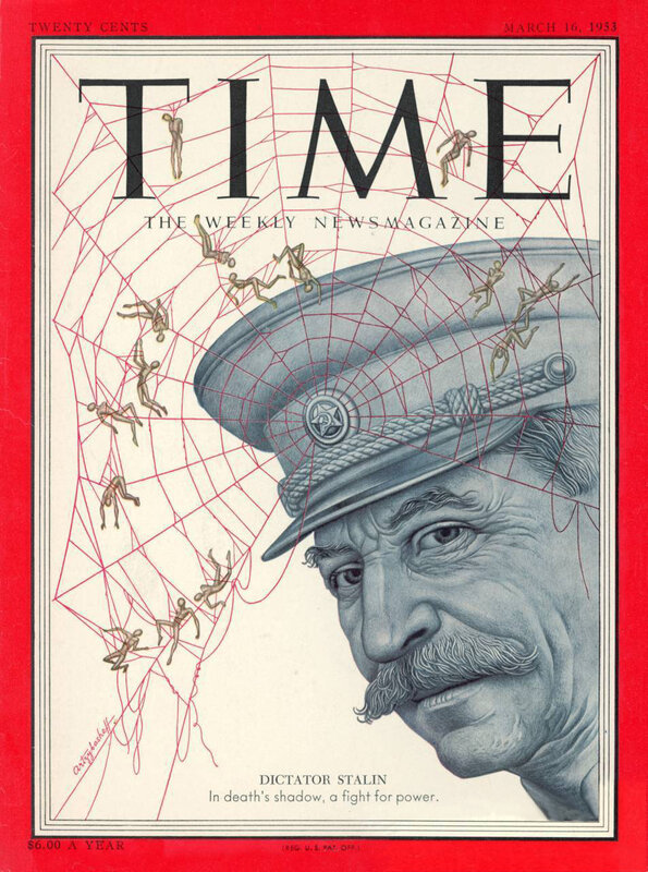 Иосиф Сталин, журнал ТАЙМ