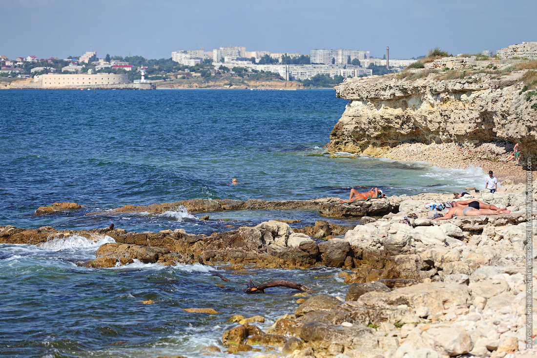 Крым Херсонес Таврический море