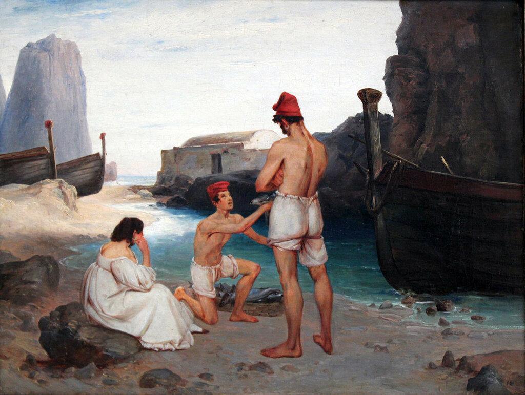 1834_Blechen_Fischer_auf_Capri_anagoria.JPG