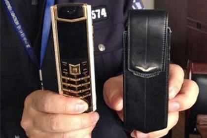 Китайская полиция вернула утерянный Vertu владельцу
