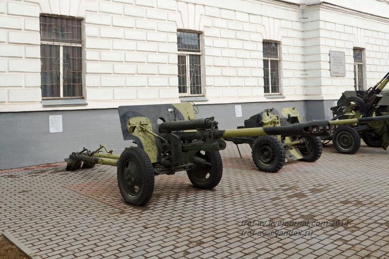 ЗИС-3, Выставка военной техники у музея истории ВДВ, Рязань