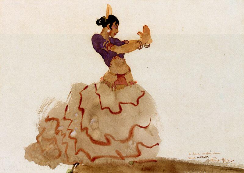 Flint William Russell (1880-1969) Шотландия. У каждой женщины есть свой Внутренний танец