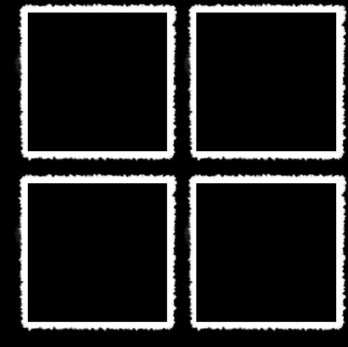 белые рамки