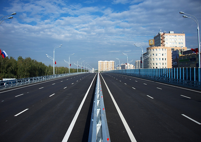 Участок платной дороги Москва— Санкт-Петербург откроют 21сентября
