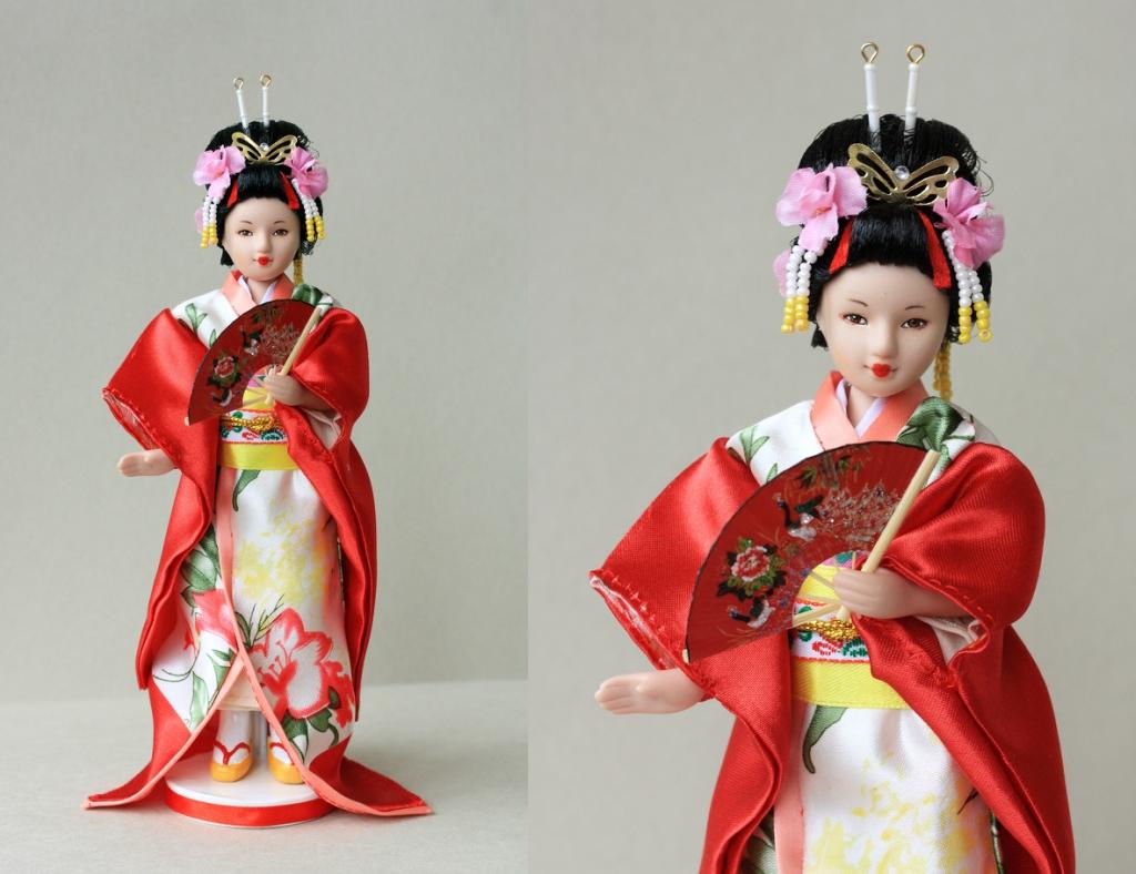 Куклы в Костюмах Народов Мира №3 - Япония