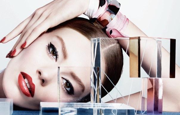Ондрия Хардин (Ondria Hardin) в журнале Dior Magazine (5 фото)