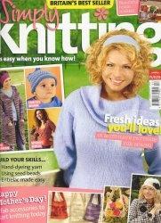 Журнал Simply Knitting №4 2007