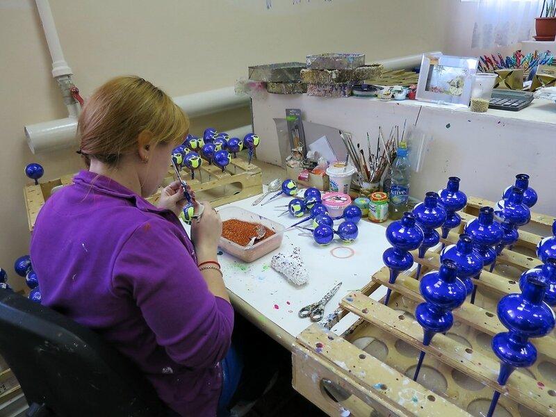 Завод ёлочных игрушек