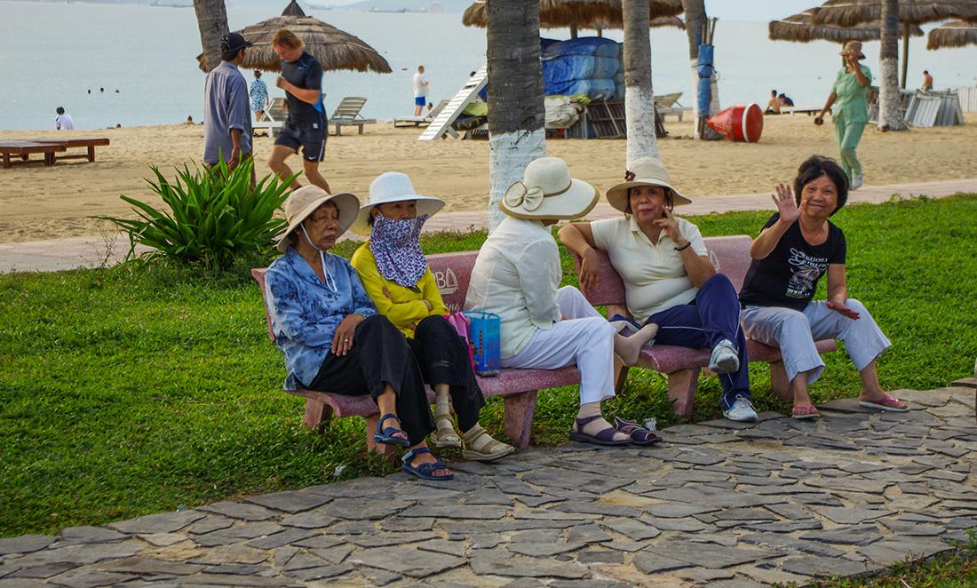 Вьетнамские бабушки