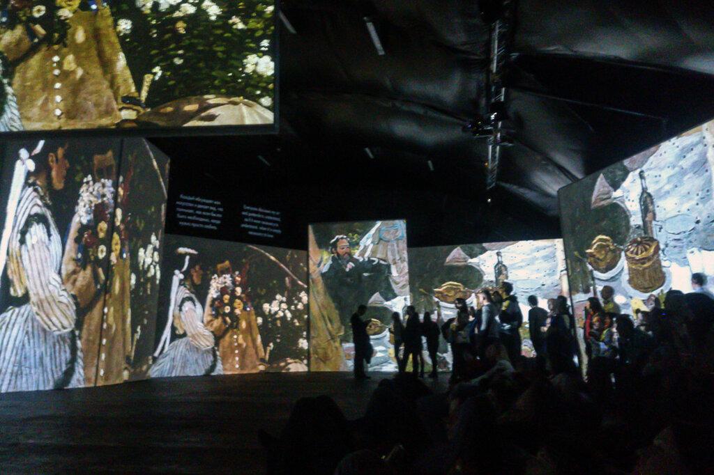 2015.04.04 - Москва. ArtPlay. Французские импрессионисты от Моне до Сезанна. Экспозиция. Фрагмент 6